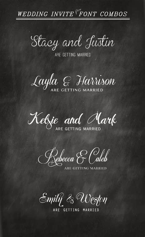 5 Best Free Font Weddings Invitation   FONT BUNDLE