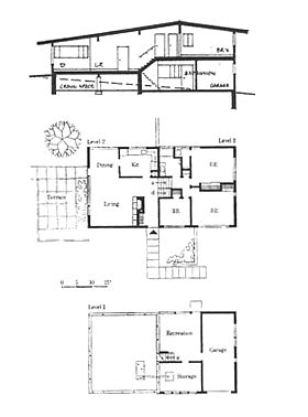 gropius house plans gropius house plan pdf house plans