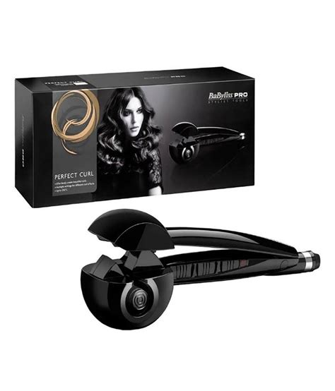 babyliss pro babu perfect curler hair curlers black
