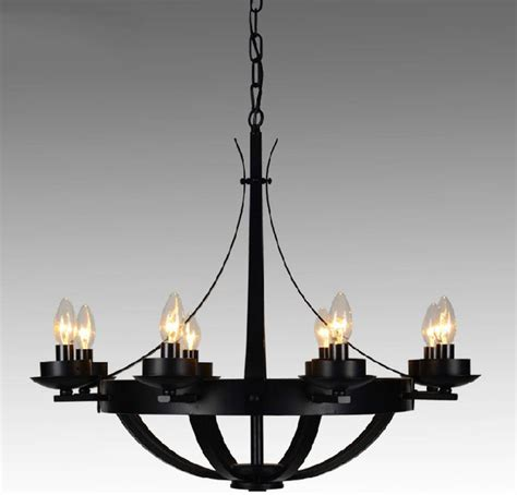Modern Iron Chandeliers Post Modern Iron 8 Lights Chandelier Contemporary Chandeliers New York By Lighting