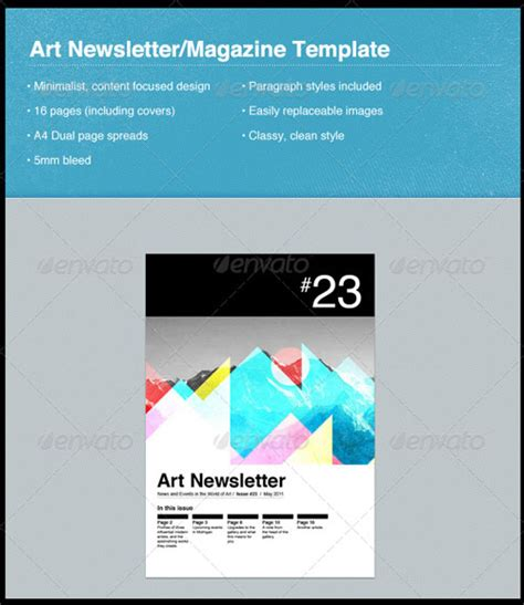 indesign email templates email newsletter templates indesign