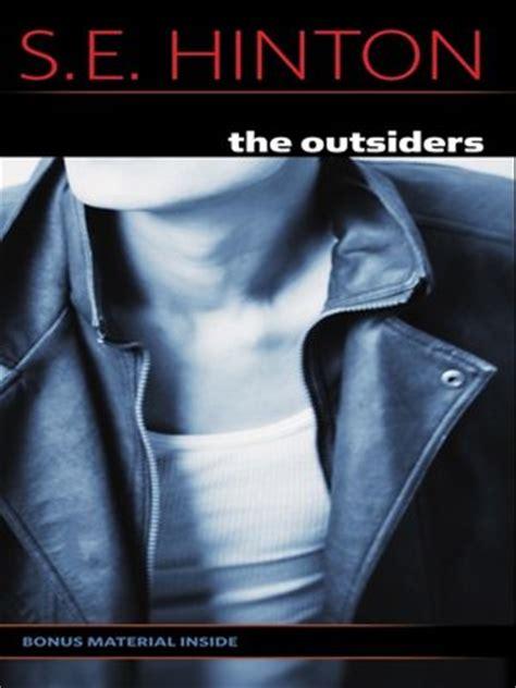 the outsiders by s. e. hinton · overdrive (rakuten