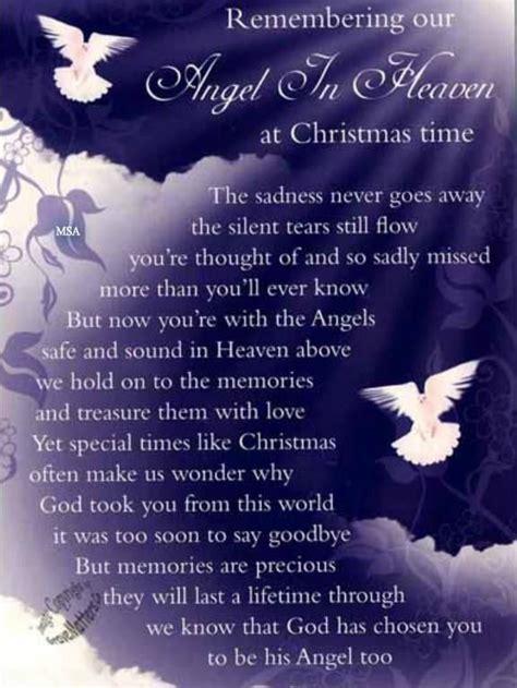 mom christmas  heaven poem  goneorg poem remembering  angel  heaven