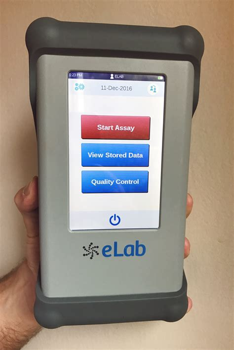 Care Device a point of care company with handheld test device is