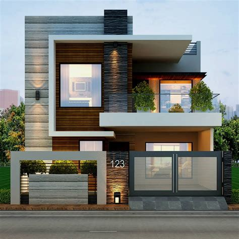 Simple Home Front Design Images
