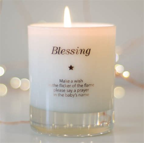 Candle Company Bless Your by Make A Wish For A Blessing Candle By Make A Wish Candle