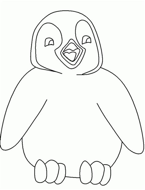 emperor penguin coloring pages coloring home