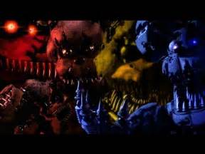 Five nights at freddy s 4 all new nightmare animatronics fnaf 4