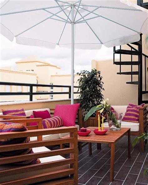 Decorating Ideas Terrace Colorful Cozy Roof Terrace Decoration Ideas Design