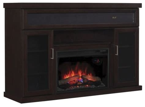 Electric Fireplace With Speakers by Tenor Tv Stand With Speakers And 25 Quot Curved Electric