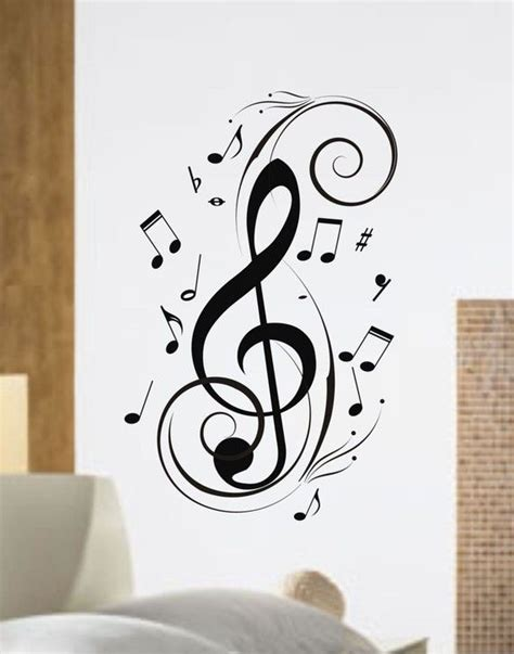 wall tattoo maker 25 best ideas about music notes on pinterest drawings