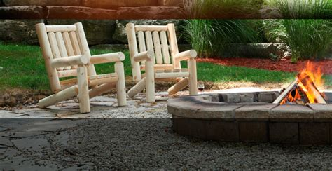 Log Patio Furniture by Patio Log Patio Furniture Home Interior Design