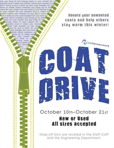 Coat Drive Flyer Templates Free