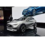 Infiniti QX30 Concept Shows Its Curves And Creases In