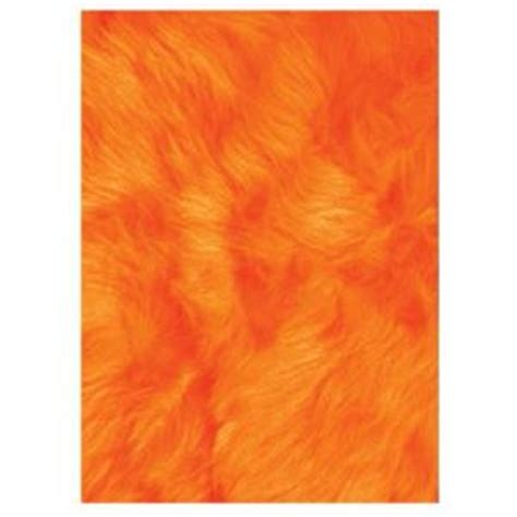 la rug flokati orange 2 ft 7 in x 3 ft 11 in accent
