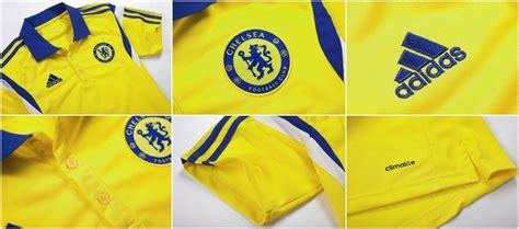 Kaos Jersey Chelsea Chelsea Tshirt polo shirt chelsea yellow 2014 2015 big match jersey