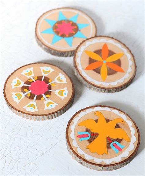 coasters diy 25 easy to make diy coasters