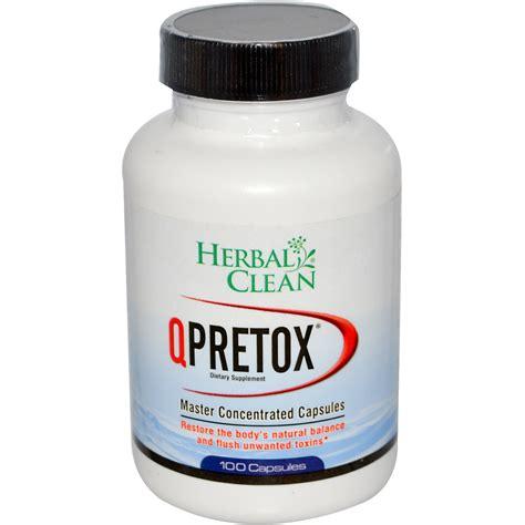 Herbal Cleanser herbal clean qpretox master concentrated 100 capsules iherb