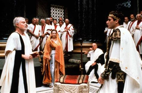 gladiator film netflix the roman senate connie nielsen as lucilla and joaquin