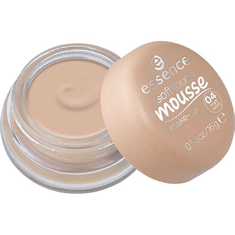 mousse make up essence soft touch mousse makeup matte ivory 04 at wilko