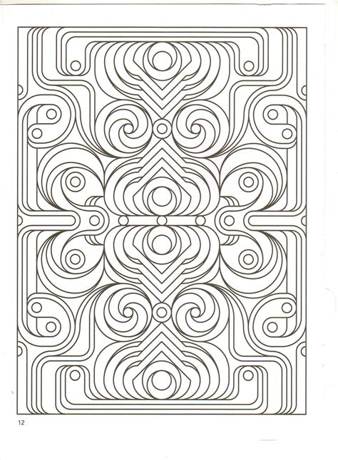 fractals coloring pages coloring home