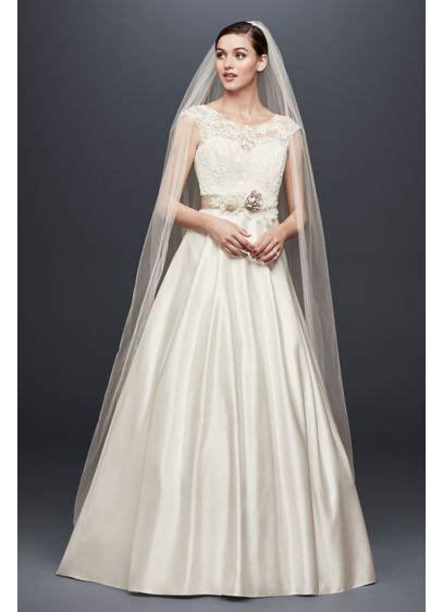 can men try dresses at davids bridal appliqued cap sleeve a line wedding dress david s bridal