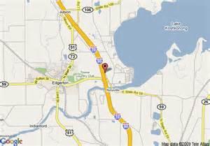 Comfort Inn Texas City Map Of Comfort Inn Edgerton Edgerton