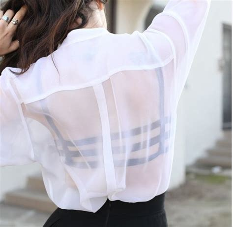 Ollan Blouse 25 sheer styles to try styles weekly