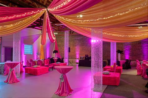 room draping for parties draping festivities event rental decor floral