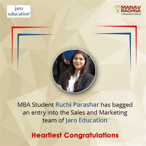 Congrats Pursuing Your Mba by Testimonials Manav Rachna Vidyanatariksha
