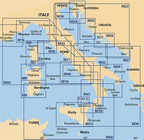 motorboot italien vorschriften sportbootkarten italien von imray
