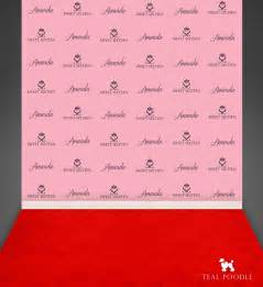 custom photo backdrops custom sweet sixteen step and repeat backdrop for carpet
