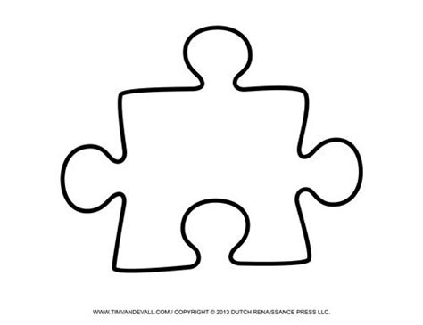 large puzzle template large printable puzzle education
