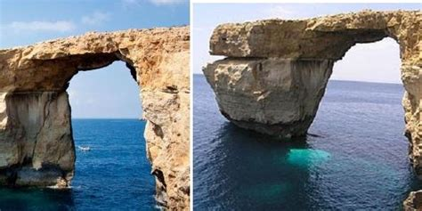 azure window before and after azure window not at imminent risk of collapse