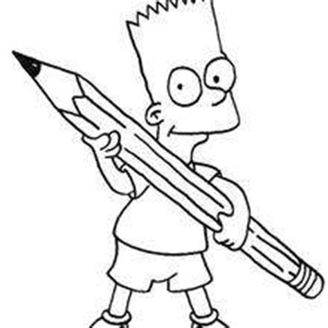 bad boy coloring page bart the bad boy coloring pages hellokids com