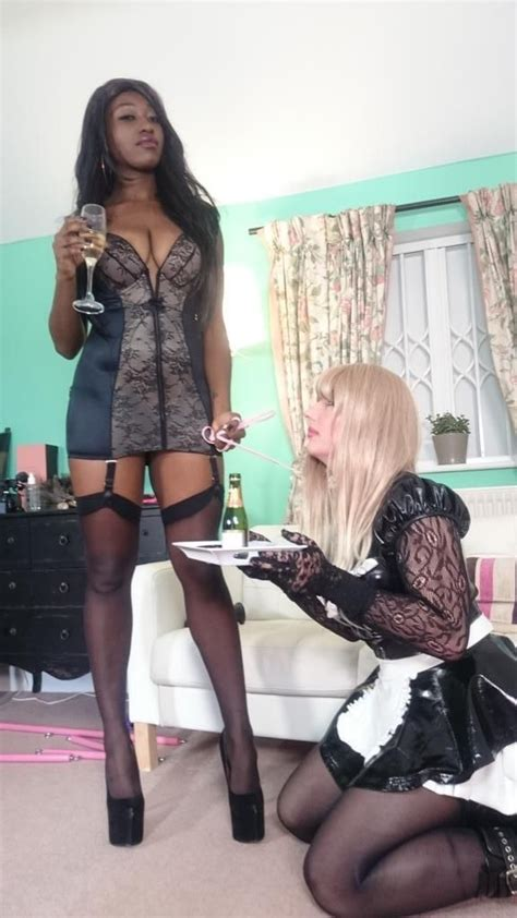 feminization training contract black woman dominating white man gurl trained and