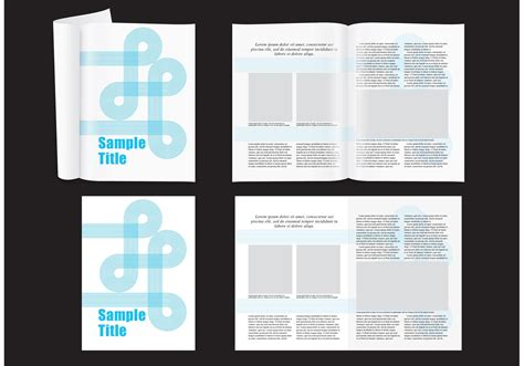 magazine layout vector free download modern magazine layout download free vector art stock