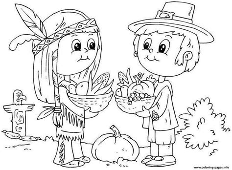 coloring page november printable thanksgiving november kid coloring pages printable