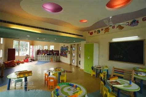 playschool interior design adarshila vatika  spaces
