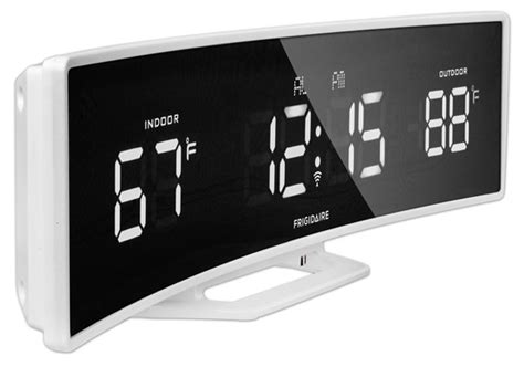 cool atomic alarm clocks with weather predictions for the bedroom and around the home colour