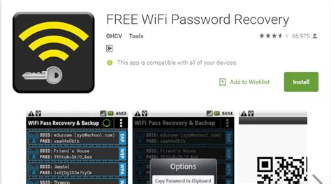 how to see the wifi password on android how to view saved wifi passwords in android 2018 methods