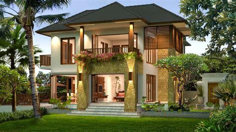desain depan rumah bali ciri khas membuat desain rumah bali sederhana dan contoh