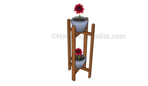 how to build an indoor plant stand howtospecialist how