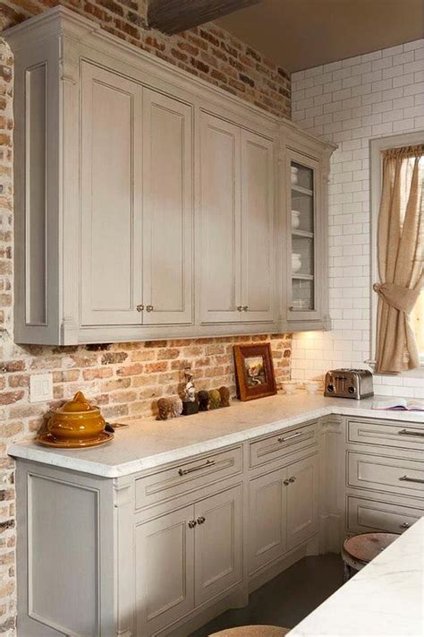 brick tile backsplash kitchen brick backsplash tile tile design ideas