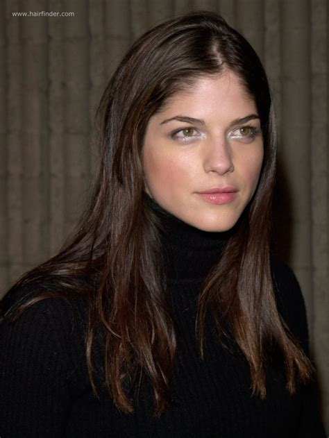 Color Combination Finder by Selma Blair Long Hairstyle For Naturally Straight Hair
