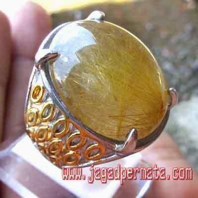 Batu Akik Kecubung Rambut Iga144 batu akik kecubung rambut emas batu akik