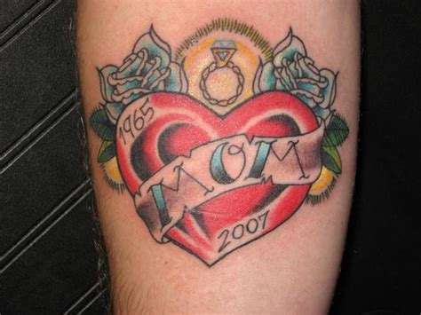 mom heart tattoo trend 2012