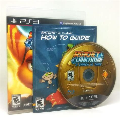 Ratchet Clank In Time Ps3 Reg 1 ratchet clank future a in time sony playstation 3 ps3