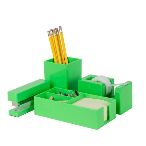 Modern Desk Accessories Set 1000 Images About Green Desk Accessories On Pinterest Mice Green Mugs And Products