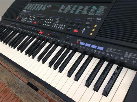 Keyboard Yamaha Type E 433 New yamaha psr 500 vintage keyboard arranger 1991 61